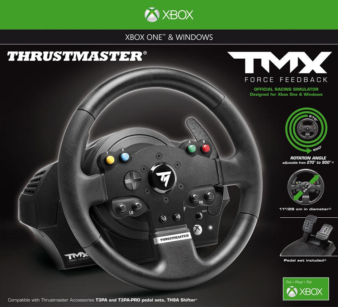 Thrustmaster tmx force feedback for xbox one pc playseatstore for all your racing needs