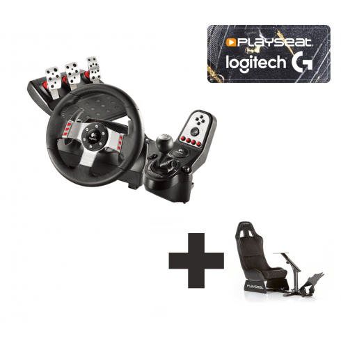 718bb1672e5 Logitech G27 for PS2 + PS3 + PC Ready to Race bundle - For all your ...