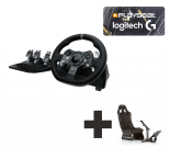 Logitech G920 for Xbox One + PC Ready to Race bundle