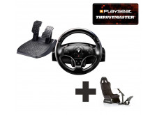 Thrustmaster T100 Force Feedback Racing Wheel Ready to Race bundle