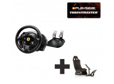 Thrustmaster T300 Ferrari GTE Racing Wheel PC Ready to Race bundle