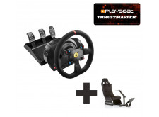 Thrustmaster T300 Ferrari Integral Racing Wheel Alcantara Edition for PS3 + PS4 + PC Ready to Race bundle