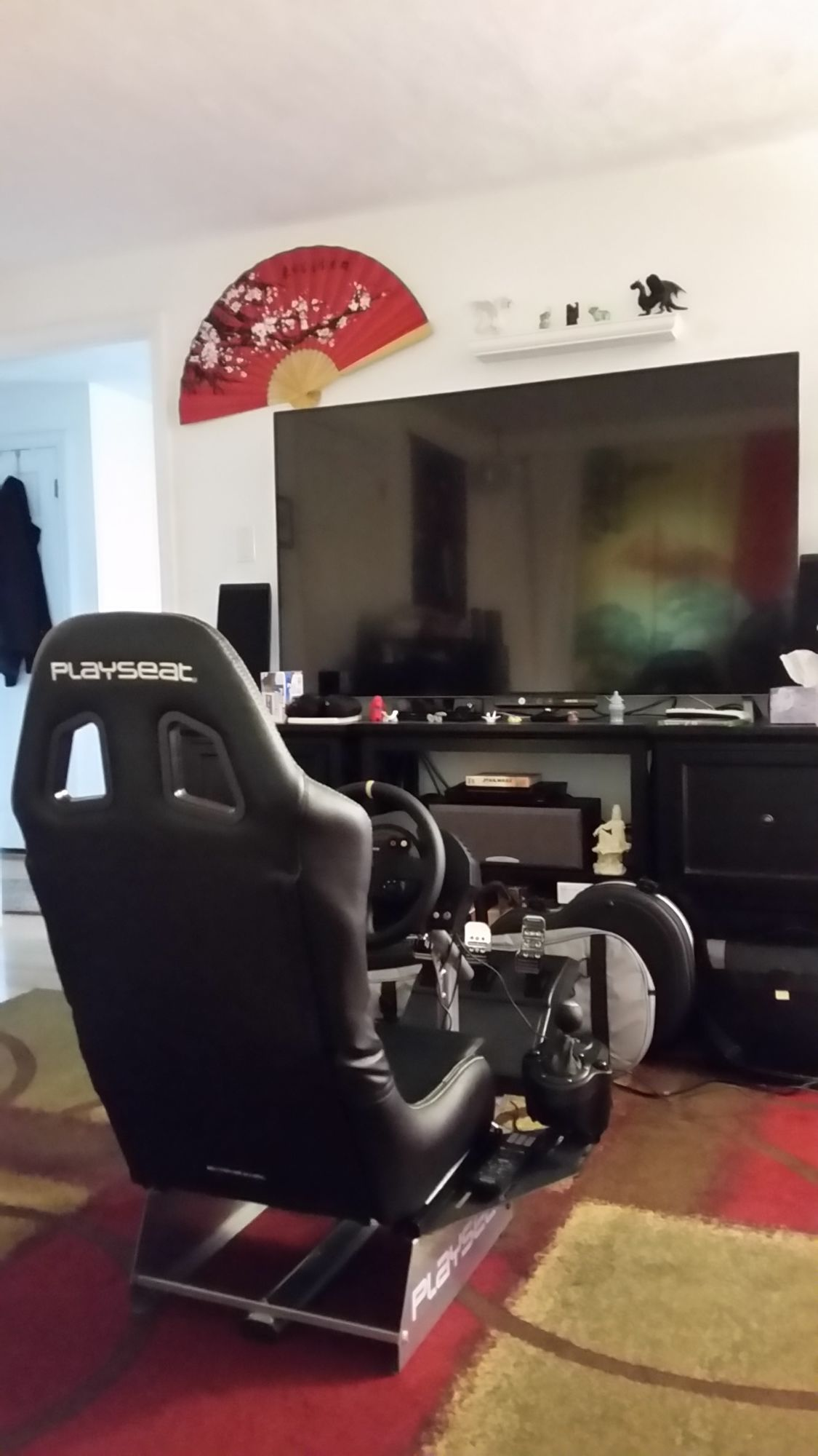 Most awesome gamig chair set up
