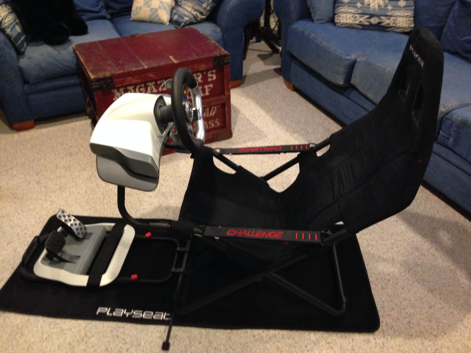 Playseat Challenge fit racing needs perfectly