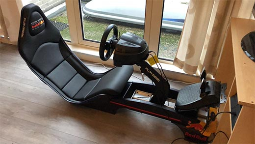 Gives you a totally new experience during simracing