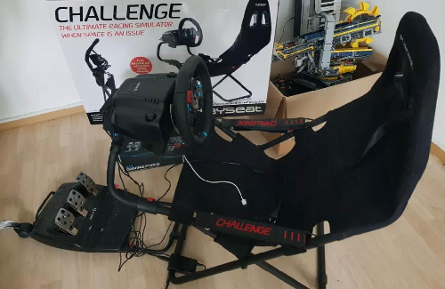 I have to say this Playseat Challenge is really a whole new gaming experience.