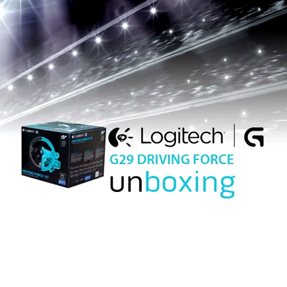 Our Logitech G29 Driving Force unboxing video!