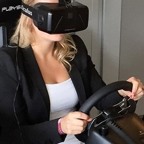 The ultimate virtual reality experience with Playseat®